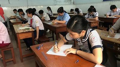 Điểm thi lớp 10 tại TP.HCM: 50% bài thi môn Anh văn và Toán dưới trung bình