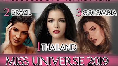 Missosology công bố danh sách ứng viên sáng giá trong cuộc thi Miss Universe 2019: Thái Lan xuất sắc vươn lên dẫn đầu, Hoàng Thuỳ mất hút