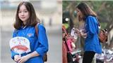 Danh tính nữ sinh gây chú ý trong hoạt động tình nguyện: 'Chiều cao vượt trội khiến em e ngại'