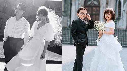 Từ mối tình Đông Nhi - Ông Cao Thắng đến đám cưới cặp đôi tí hon: Mây tầng nào cũng có thể tìm được tình yêu đích thực