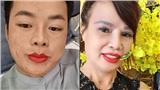 Cô dâu 62 tuổi 'chơi lớn' rủ chồng 26 tuổi cùng đi xăm môi đỏ chót