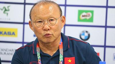HLV Park Hang-seo dự kiến dốc toàn lực trong trận gặp U22 Indonesia