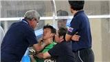Khoảnh khắc ám ảnh nhất lịch sử bóng đá Việt Nam: HLV trưởng ĐTQG bóp cổ thủ môn ở chung kết SEA Games