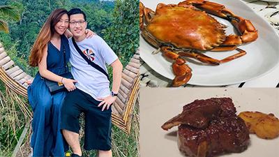 Em gái MC Trấn Thành mang bầu được chồng ngoại quốc 'cưng như trứng mỏng', ăn thịt bò 20 triệu/kg