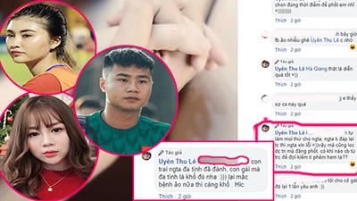 Trước scandal 'cắm sừng' của người yêu, Thu Uyên ám chỉ tình cũ của Văn Toản 'hám fame' và 'mắc bệnh ảo'