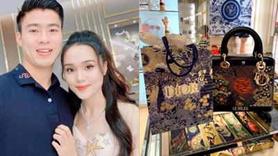 Mừng sinh nhật, Duy Mạnh tặng túi xách hơn 100 triệu cho Quỳnh Anh