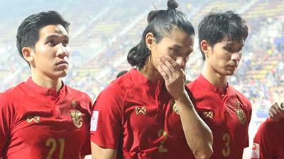 Thua 0-1 trước U23 Ả Rập Saudi, U23 Thái Lan bật khóc nói 'tôn trọng quyết định trọng tài' khi phạt penalty