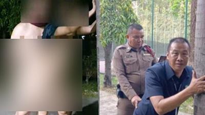 Cặp đôi 'mây mưa' trong khuôn viên trường đại học gây bức xúc nhưng nhìn 2 viên cảnh sát 'tái hiện' hiện trường để điều tra mới thật đáng thương