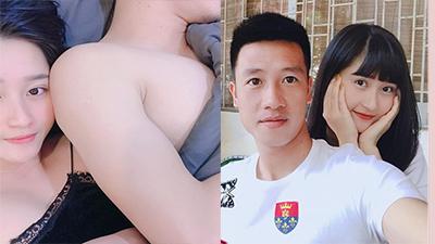 Hot girl Hải Phòng bất ngờ khoe ảnh 'giường chiếu' với tuyển thủ Việt Nam