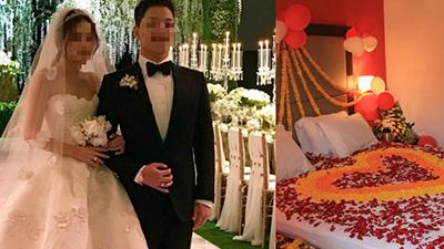 Đấu tranh mãi bố mẹ mới cho cưới vậy mà đúng đêm tân hôn cô dâu lại ôm váy chạy khỏi nhà chồng vì nghe câu: 'Phối hợp ăn ý thì 10 tỷ đó cưa đôi'