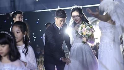 Đám cưới cổ tích với Quỳnh Anh: Duy Mạnh phá vỡ định nghĩa soái ca
