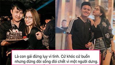 Giữa tin đồn chia tay bạn trai mới vì chưa quên được Quang Hải, Nhật Lê chia sẻ: 'Là con gái đừng sống quá mộng mơ'