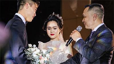 Chia sẻ đầu tiên của Quỳnh Anh sau đám cưới cổ tích: Chỉ 6 chữ về người bố 'siêu giàu' gây xúc động