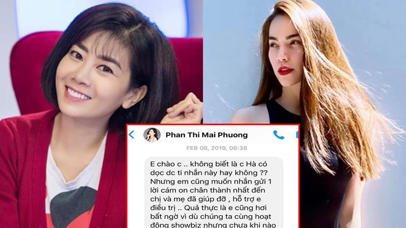 Hà Hồ tiết lộ lời nhắn riêng của Mai Phương khiến ai cũng xúc động: 'Dù có điều gì xảy ra thì sự tử tế vẫn luôn ở lại'