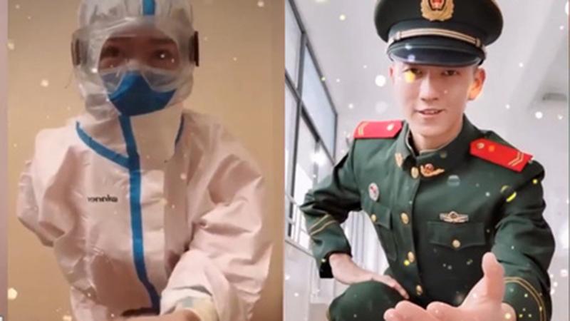 Ngôn tình vẫn hiện hữu ngoài đời thực: Nữ y tá độc thân đăng video bày tỏ, chàng quân nhân đẹp trai tình nguyện 'đớp thính'