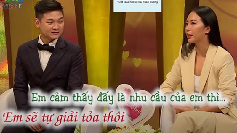 Hana Giang Anh lần đầu kể chuyện chồng không đáp ứng đủ nhu cầu 'chuyện ấy' nên tự tìm cách giải tỏa