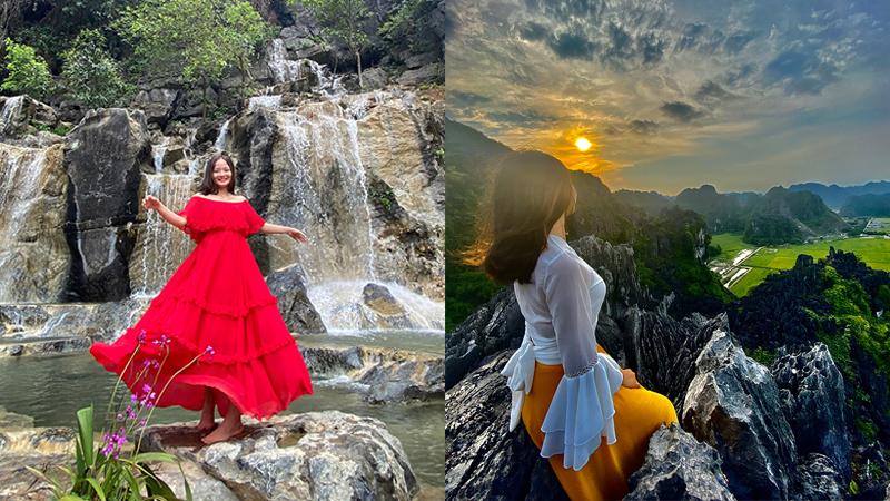 Mãn nhãn với loạt ảnh giới trẻ check-in tạinhững địa điểm sống ảo hot nhất Ninh Bình vào đầu hè
