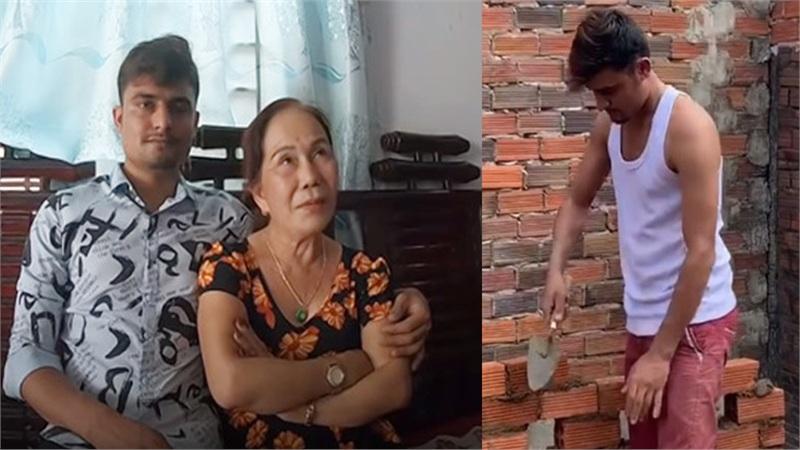 Đăng ảnh chồng đi làm thợ hồ để khẳng định không ăn bám vợ, cặp đôi 'cô dâu 65 tuổi' bị bóc phốt 'làm màu'