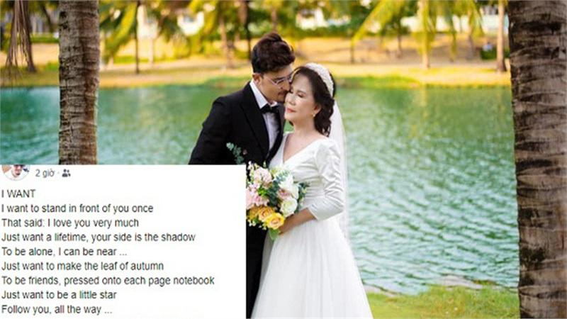 Sau loạt tin đồn rạn nứt, chú rể ngoại quốc bất ngờ đăng dòng trạng thái có nội dung 'lạ' ám chỉ cô dâu 65 tuổi