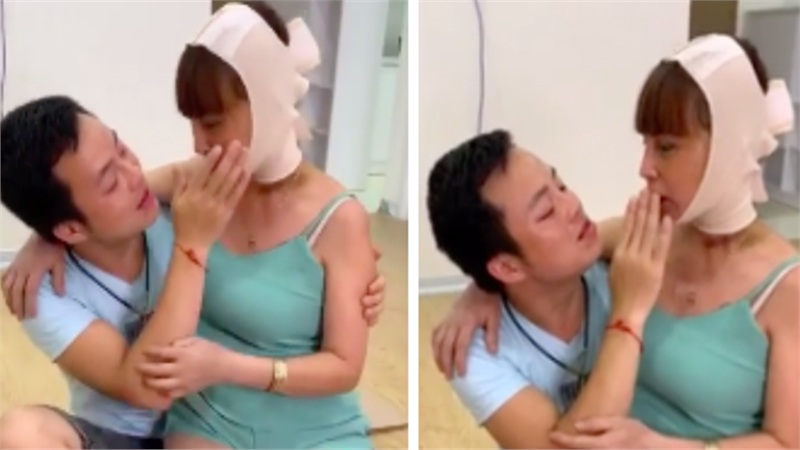 Cô dâu 63 tuổi ở Cao Bằng được chồng kém 36 tuổi 'cưng như trứng mỏng', đút cho ăn từng miếng nhưng trái ý là bị cắn thâm tím người?