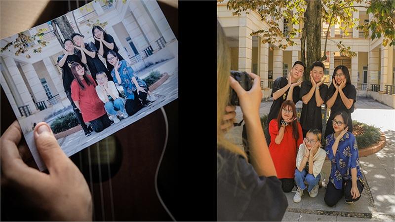 Tìm lại ký ức thanh xuân trong bộ ảnh 'Những điều ở lại' của sinh viên trường Báo