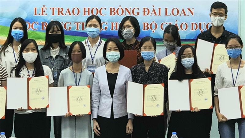 117 thí sinh Việt Nam được nhận học bổng từ Bộ Giáo dục Đài Loan