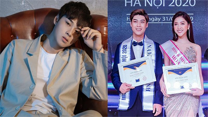 Chân dung hotboy Tiktok sở hữu khuôn mặt 'không góc chết', vừa giành ngôi vị Nam vương Ảnh tại cuộc thi Miss & Mister Hà Nội 2020