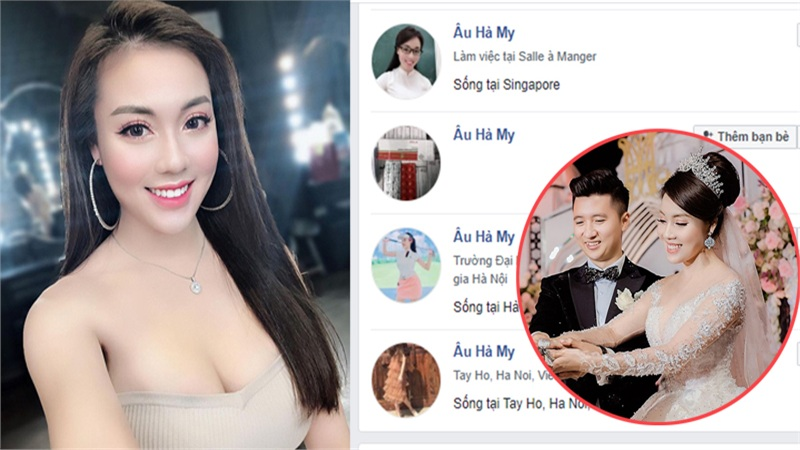Âu Hà My bất ngờ khóa Facebook cá nhân sau màn bóc phốt chồng ngoại tình, MXH xuất hiện hàng loạt tài khoản fake
