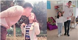 Cặp đôi 'đũa lệch' vợ 1m2 được chồng cao 1m8 cưng như trứng mỏng, hạnh phúc đón con đầu lòng
