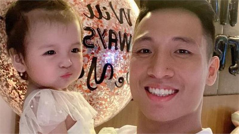 Sinh nhật tuổi 25, Bùi Tiến Dũng cảm ơn bà xã Khánh Linh