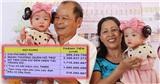 Trúc Nhi - Diệu Nhi xuất viện với sổ tiết kiệm 1,5 tỷ đồng