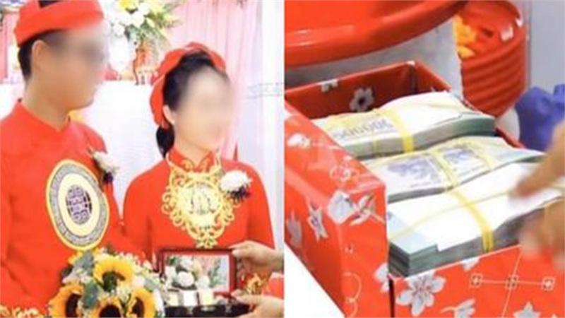 Màn nạp tài khủng 1,8 tỷ tiền mặt của chú rể miền Tây, nhà cô dâu cũng 'đáp lễ' bằng số lượng vàng và kim cương chẳng kém cạnh