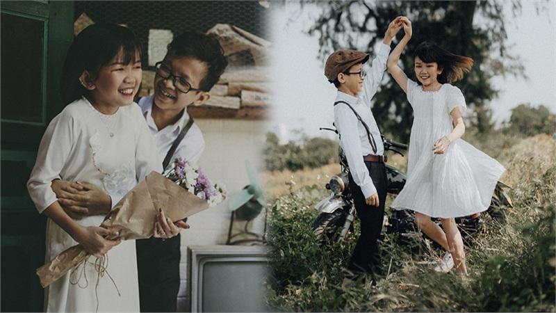 Xúc động những khoảnh khắc 'tình bể bình' của cặp 'vợ chồng tí hon' kỷ niệm 1 năm ngày cưới