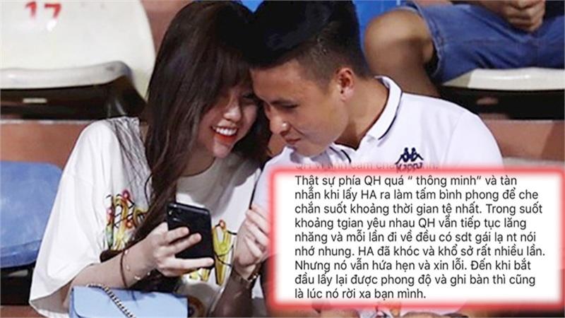 Bạn thân Huỳnh Anh tố Quang Hải tàn nhẫn, hồi bị hack Facebook đã cầu xin đừng bỏ rơi để không ảnh hưởng danh tiếng