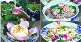 Hang Múa - 'đệ nhất sống ảo Ninh Bình' gây sốt với loạt ẩm thực từ sen tươi