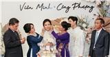 Chi tiết đặc biệt trên backdrop sân khấu lẫn thiệp mời đám cưới Công Phượng: Vị thế của cô dâu luôn là số 1