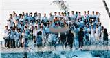 Kết thúc lễ cưới, Công Phượng không ngần ngại khóa môi Viên Minh trước các khách mời