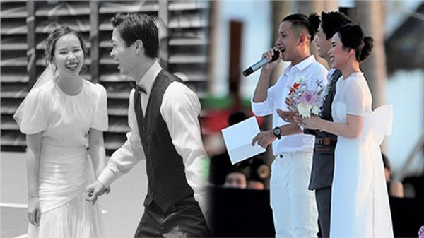 Thiên kim tiểu thư Viên Minh chỉ mặc váy 2,2 triệu đồng để chụp ảnh cưới với Công Phượng