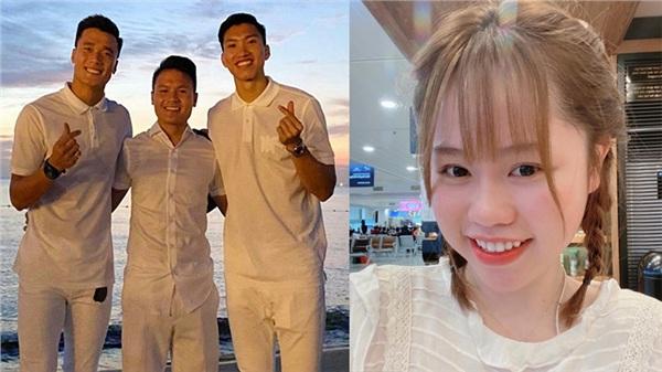 Quang Hải vừa than 'kém may mắn trong chuyện tình cảm', Huỳnh Anh bất ngờ trở lại MXH bằng bức ảnh tươi như hoa