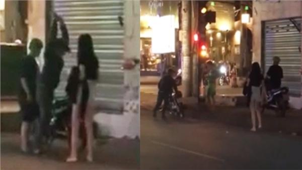 Clip: Bắt gặp vợ đi cùng người đàn ông khác, chồng ngay lập tức chặn đầu xe rồi bất lực đập vỡ... iPad