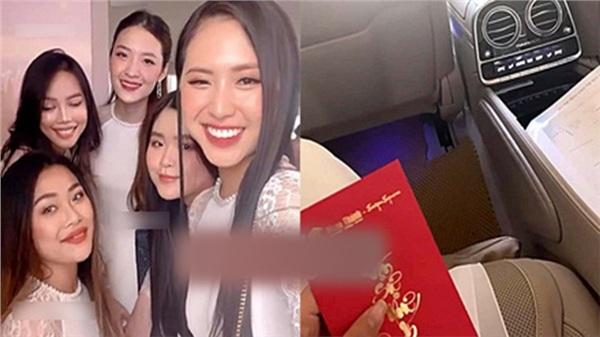 Lộ dàn phù dâu cầm chiếc phong bao lì xì có in logo doanh nghiệp nhà thiếu gia Phan Thành, đám hỏi đã chính xác 100%?