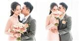Chính thức hé lộ ảnh thiếu gia Phan Thành tình tứ ôm hôn cô dâu Primmy Trương trong đám hỏi
