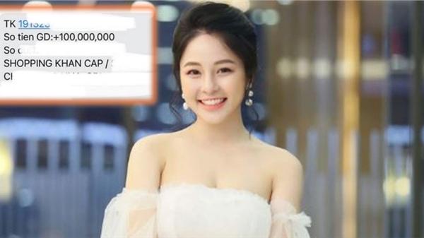 Ai sướng bằng hotgirl Trâm Anh: Hơi kém vui là anh người yêu lại chuyển ngay 100 triệu để 'shopping khẩn cấp'