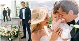 Cặp đôi tổ chức hôn lễ cùng sự hiện diện của nhân vật siêu đáng yêu