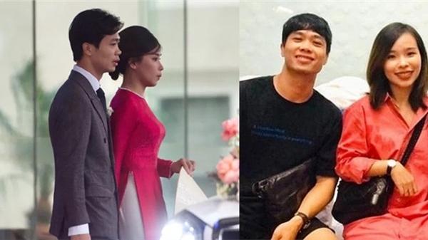 Tiếp tục có hành động 'che chắn' bụng trong ngày cưới, song cô dâu Viên Minh của Công Phượng lại đập tan tin đồn với hình ảnh cận cảnh