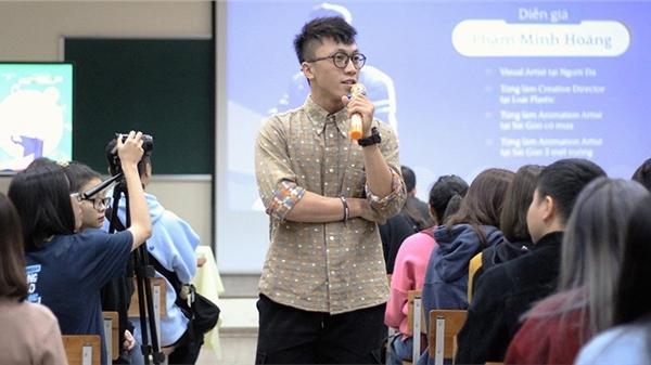 'Sáng mắt' trước chia sẻ của chàng 'Người Đá' trong cuộc thi chuyên về thiết kế dành cho học sinh, sinh viên toàn miền Bắc