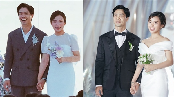 Nhìn lại chuỗi 3 đám cưới đẳng cấp 'sang - xịn - mịn' của Công Phượng - Viên Minh: Hoành tráng nhưng không phô trương