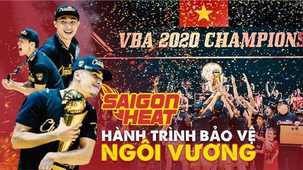 Saigon Heat mùa giải VBA 2020: Hành trình bảo vệ ngôi vương đi vào lịch sử