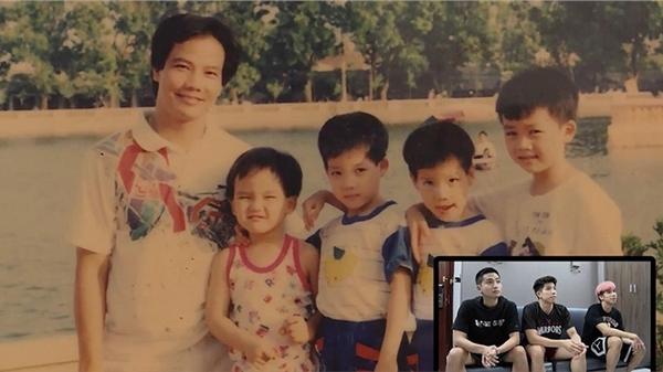 Hé lộ ảnh thời bé ngây ngô của 3 anh em ruột cùng thi đấu trong màu áo Thang Long Warriors