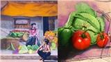 Xuất hiện làng bích họa đầu tiên ở Hà Nội 'đẹp quên lối về' khiến dân tình thích thú